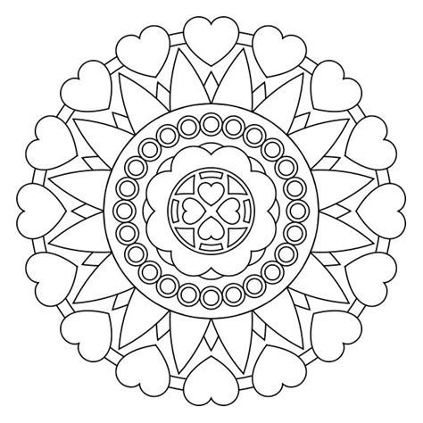 mandala coloring pages for preschoolers free printable mandala coloring pages ideas for the