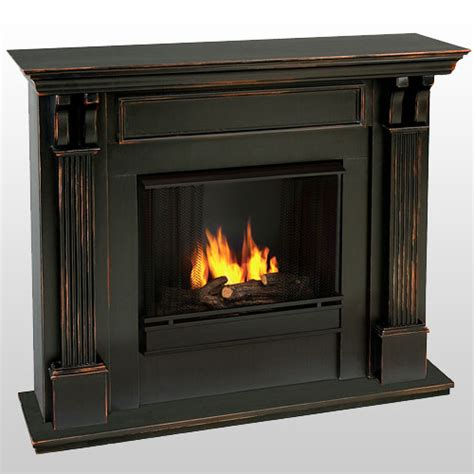 real blackwash gel fuel fireplace 7100bw
