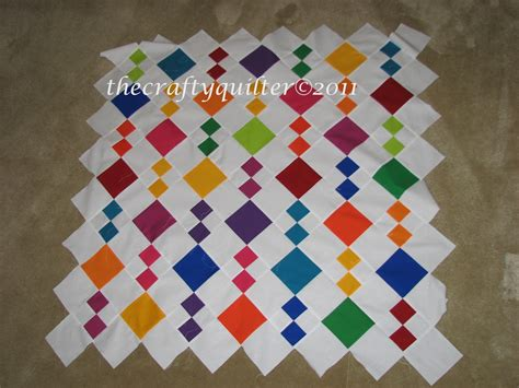 5 Inch Block Quilt Patterns by The Crafty Quilter S Closet Jean S Diamonds Quilt Pattern