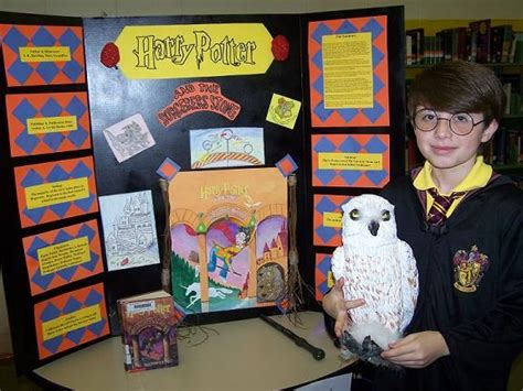 harry potter book report ideas district reading fair projects taylorsville elementary