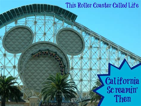 disney california adventure park california screamin this roller coaster called