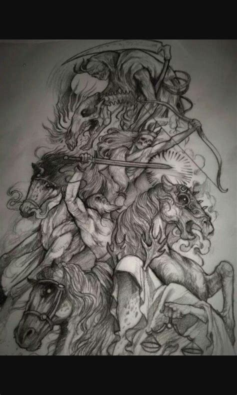 four horsemen tattoo designs 221 best images about 4 horsemen of the apocalypse on