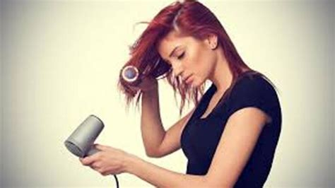 Hair Dryer Yg Tidak Merusak Rambut agar pengeringan dengan hair dryer tak sai merusak