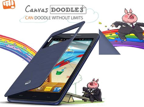 doodle 3 price in india 2014 micromax canvas doodle 3 a102 now available in india at rs