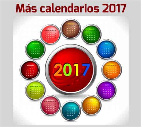 Calendario 2017 Para Descargar M 225 S Calendarios 2017 Gratuitos Para Descargar E Imprimir
