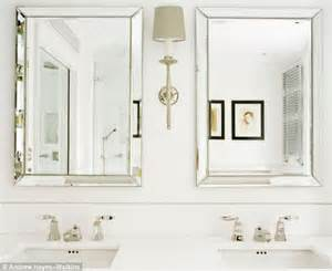 glamorous bathroom mirrors glamorous bathroom daily mail online