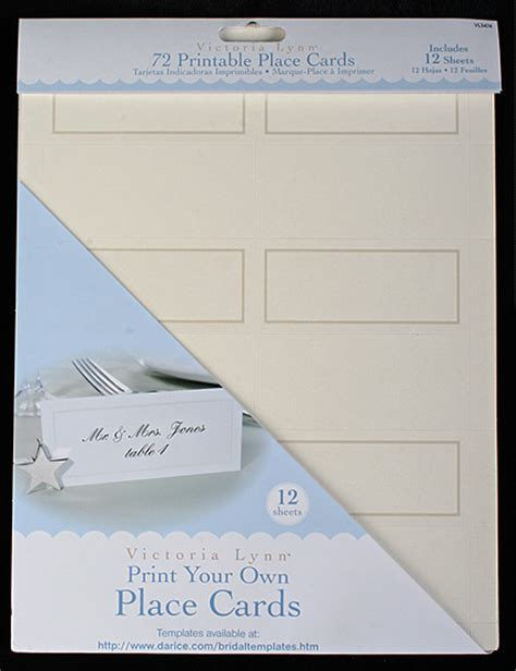 72 print your own ivory placecards placecards place card holders wedding reception - Printing Your Own Wedding Place Cards