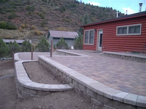 Earth Contact Home Designs leven multi level patio landscaping portfolio by dwyer