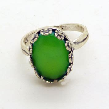 Murah Oval Ring Antique Mood Ring High Quality Ring shop sterling silver mood rings on wanelo