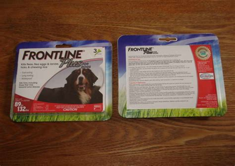 frontline plus for dogs reviews review frontline plus for dogs 89 132 lbs petswithlove us
