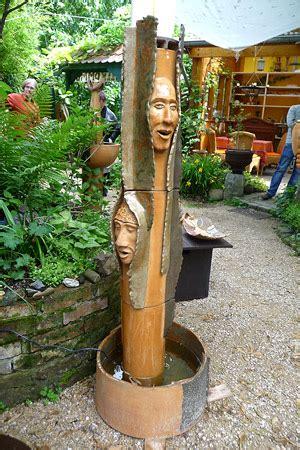 keramikbrunnen garten brunnen atelier f 252 r keramik und holz erika und paul