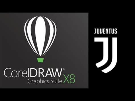 tutorial logo juventus tutorial coreldraw x8 making new juventus logo youtube