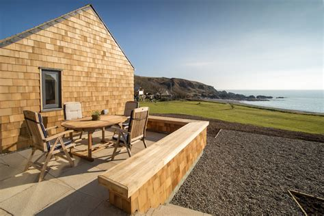 Luxury Scottish Cottages By The Sea shingle lodge luxury cottage by the sea scotland