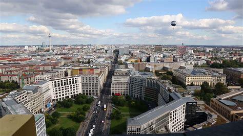 berlin city panoramic aerial view of berlin city germany skyline