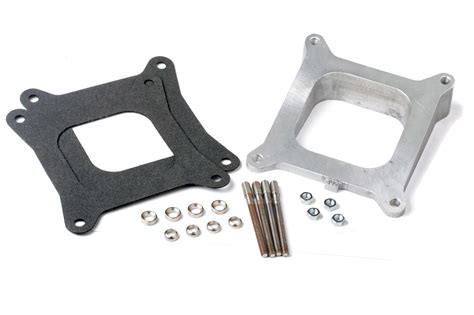 holley   aluminum intake manifold wedged spacer