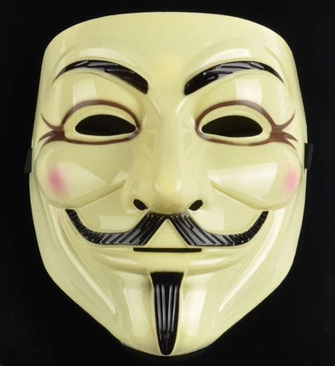 Topeng Pdt Led Mask 7in1 2pcs v for vendetta anonymous fawkes mask dc comics official rubie s license ebay
