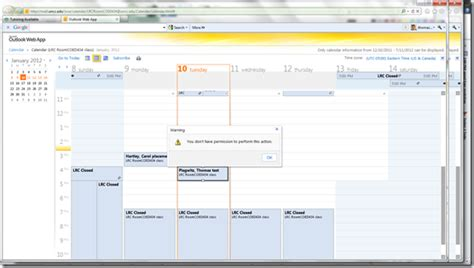 Calendar Will Not Update On Outlook Live Work Space Page 5