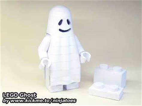 Papercraft Ghost - lego ghost papercraft papercraft paradise papercrafts