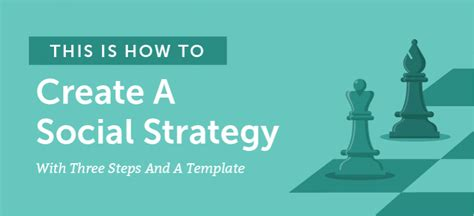 social media strategy template how to create a social media strategy free template