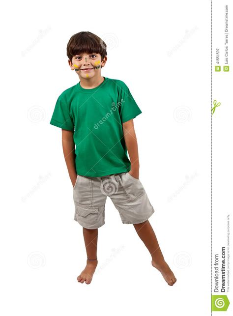 Kid On by Kid Cheer Santand Up Stock Photo Image 41551597