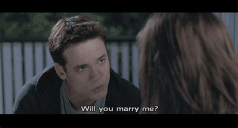romance film walk to remember will you marry me funny gifs