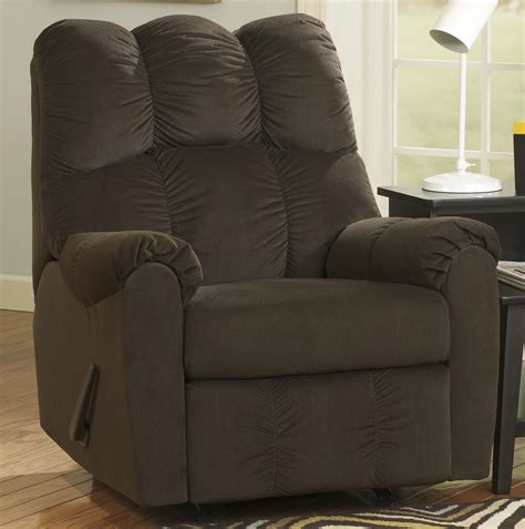 padded rocker recliner rocker recliner w padded arms by signature design by