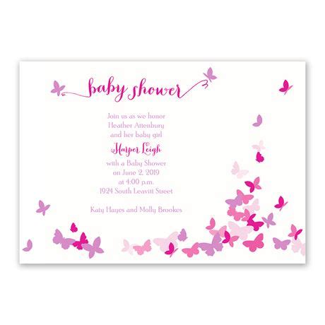 Butterfly Invitations For Baby Shower by Butterfly Dreams Baby Shower Invitation Invitations By