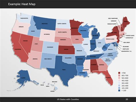 Powerpoint Us Map Template Bellacoola Co 50 States Powerpoint Template