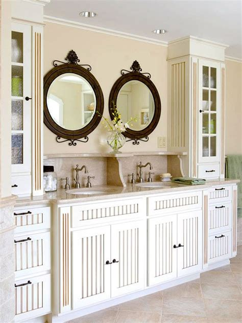 cottage style bathroom cabinets 20 classy and functional double bathroom vanities home