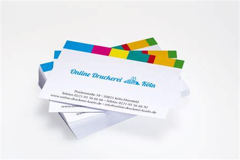 Visitenkarten Auf Rechnung by Visitenkarten Drucken Bei Druckerei K 246 Ln Auf Rechnung