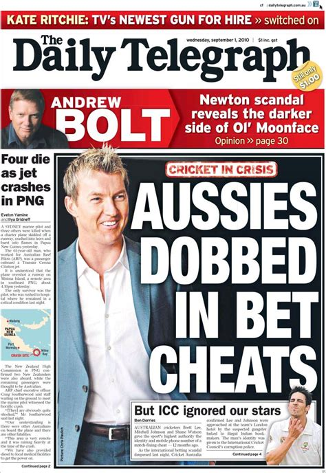 The Sunday Telegraph by Opinions On The Daily Telegraph Australia