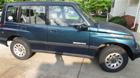 car manuals free online 1995 suzuki sidekick head up display my 1995 suzuki sidekick jx pure driving pleasure youtube