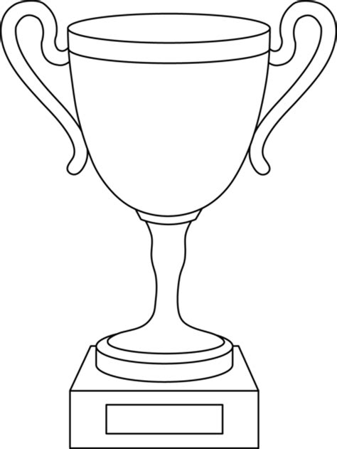 nba trophy coloring pages free coloring pages of sports trophy