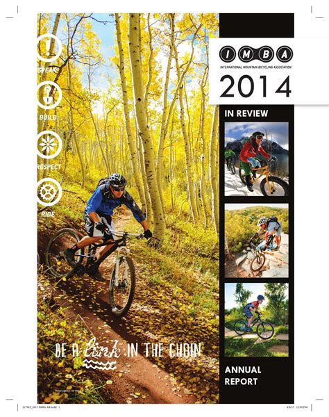 Duncan Barker Mba by Annual Report 2014 In Review By Imba Issuu