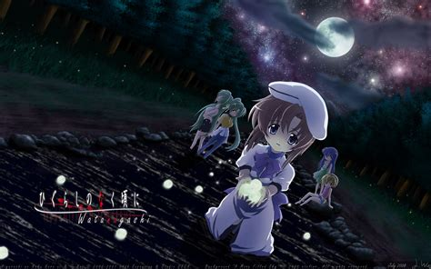 when they cry higurashi when they cry horror anime photo
