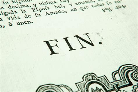 libro el fin es mi las mejores frases finales de la literatura castellana la piedra de s 237 sifo