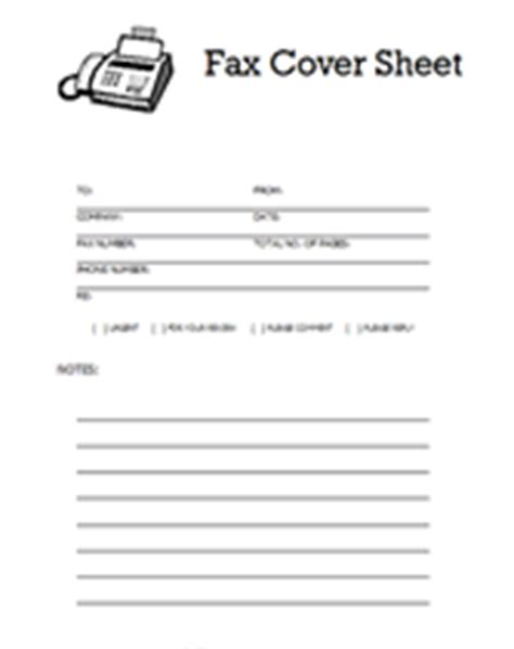 fax cover sheet template free printable basic fax template new calendar template site