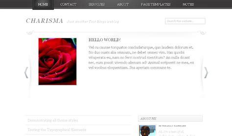 14 beautiful minimalist design blogger templates