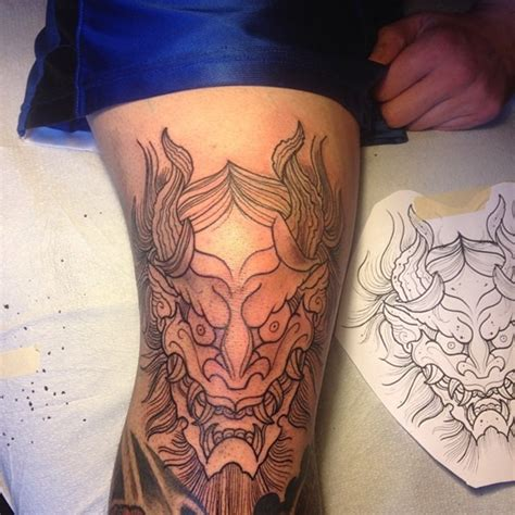 Japanese Tattoo Knee | knee tattoos and designs page 20