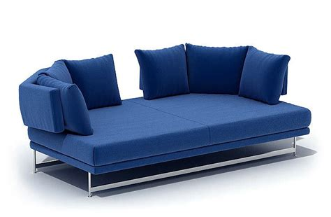 modern blue couch blue modern couch 3d model cgtrader com