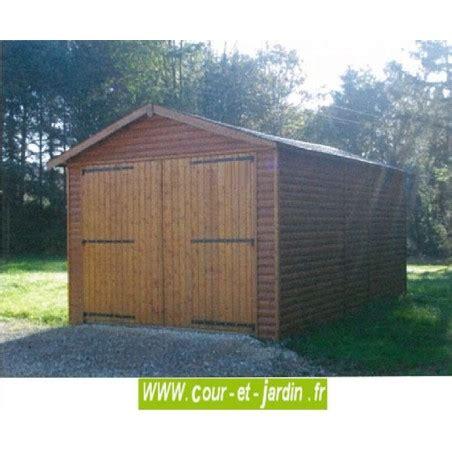 Garage En Bois Pour Voiture by Garage Pour Voiture En Bois Garages Bois En Kit Demontable