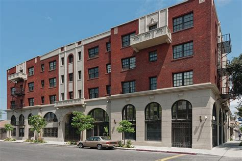los angeles housing authority historic l a hotel becomes affordable seniors housing housing finance magazine