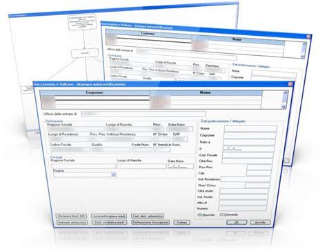 ufficio successioni software denuncia successioni e volture analist