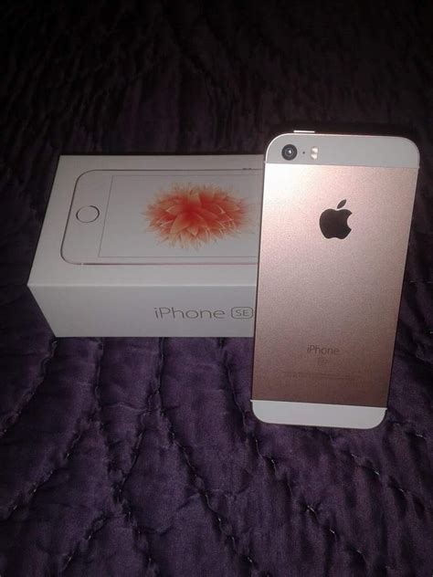Iphone Se New 16gb Rosegold Gold new iphone se gold 16gb boost mobile for sale in columbia md 5miles buy and sell