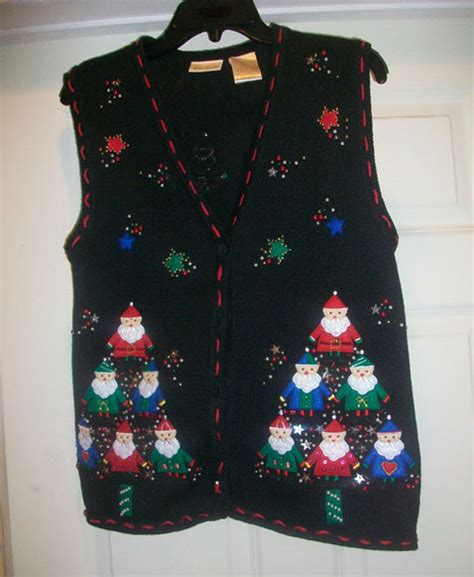 12 ugly funny tacky christmas lighted sweater vest