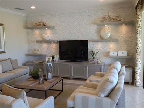 floating shelves in living room quot riverstone quot models inspirational pictures stacked stone