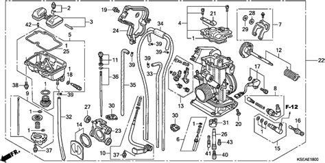 crf150f carburetor diagram crf150f carb wiring diagrams repair wiring scheme