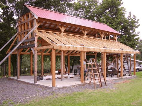 diy monitor pole barn kits plans free lower rafters for the monitor barn diy pinterest