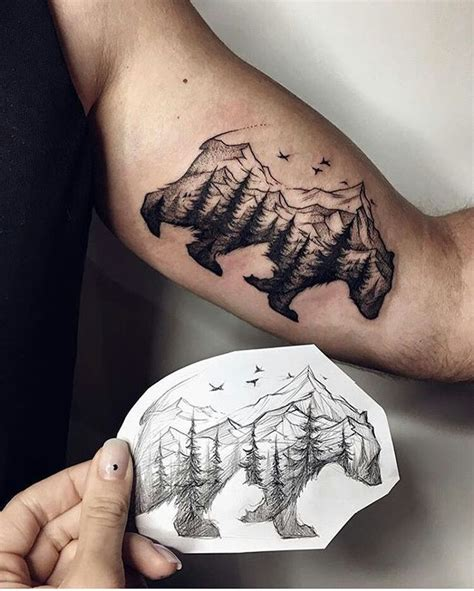 nature tattoos for guys image result for nature tattoos for nature