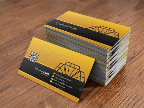 business card jewelry templates jewelry business card by gokhankara graphicriver